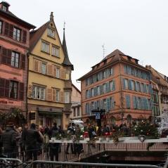 Edifici piazza di Colmar