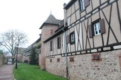 Castello e mura interne di Riquewihr