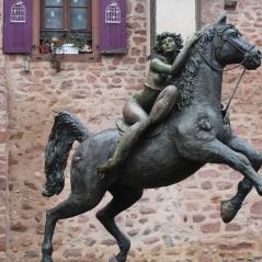 Statua donna Riquewihr